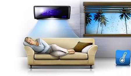 Функции кондиционера: комфортный сон