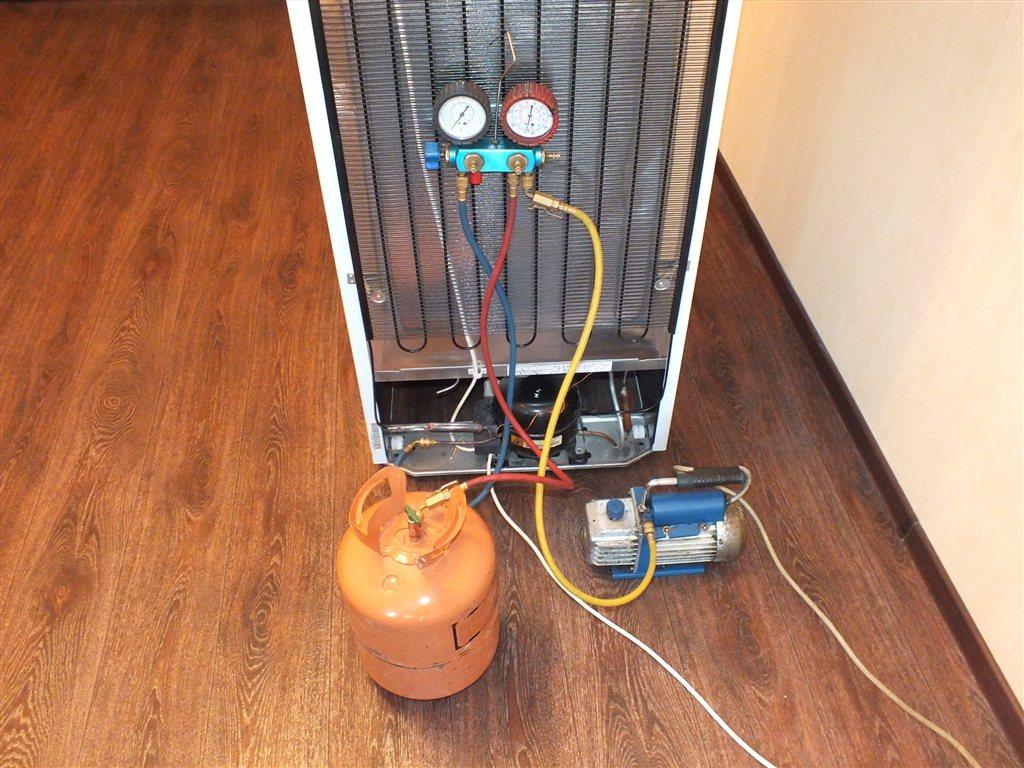 Фото ремонта холодильника своими руками