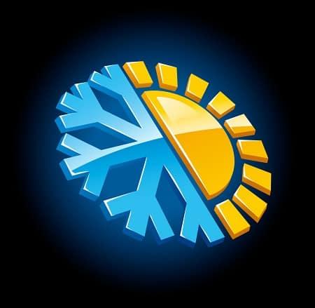 Функции в кондицционере: тепло и холод