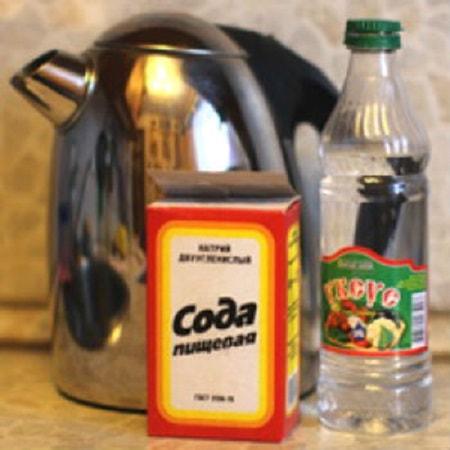 чистка содой