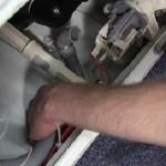 замена сливного шланга