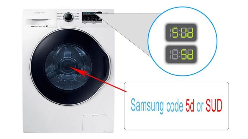 Sud (5ud) или SD (5D) в стиральной машине Samsung