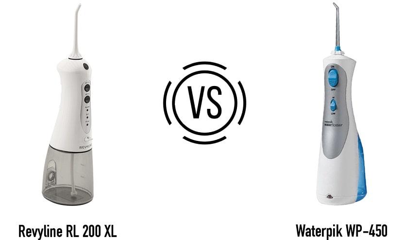 Revyline RL 200 XL vs Waterpik 450
