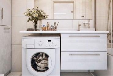 Как выбрать стиральную машинку под раковину