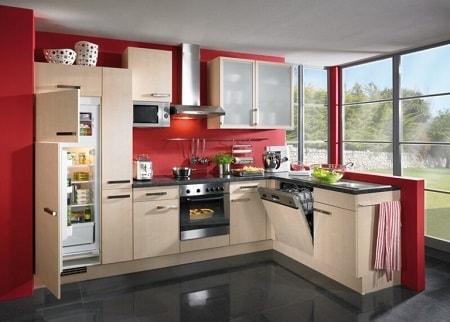 Дизайн встроенного холодильника