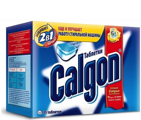таблетки Калгон