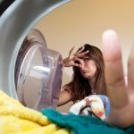 чистим стиральную машину от плесени