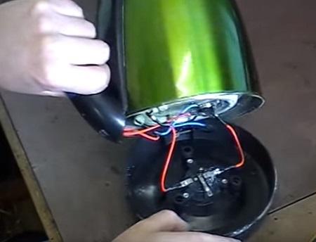 разбираем электрический чайник