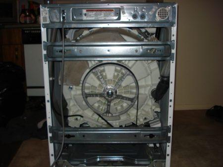 ослабление вала стиральной машины