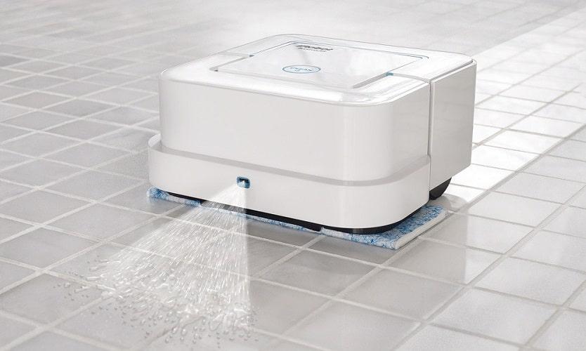 Функция влажная уборка в роботах пылесосах