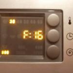 Стиральная машина Bosch - код ошибки F16