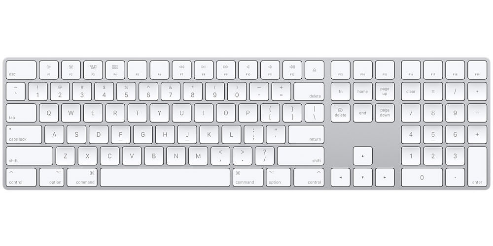 Apple Magic Keyboard Numeric Keypad